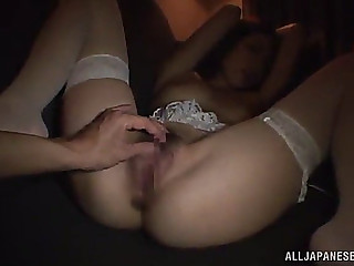 Cute oriental dilettante with an enticing perverted cumhole gives a stimulating oralservice as that babe bows for a hardcore drill