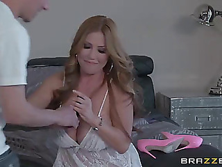 Breasty oriental mother i'd like to fuck swallows a load of cum after being bonked hardcore doggy style