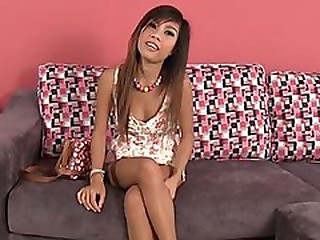 Little oriental legal age teenager tryout for job and has sex with manager
