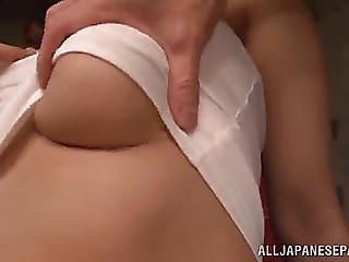 Trio sex for the hot japanese mother i'd like to fuck madoka nanao