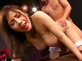 Hot Oriental Wore Azusa Nagasawa Receives Double Permeated