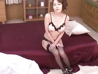 Breasty Akari Asagiri feels astounding during coarse anal play