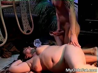Sexy murk MILF gets fucked everlasting part4
