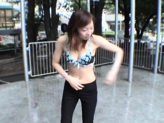 JAV teach nudity extreme outdoor face Subtitled