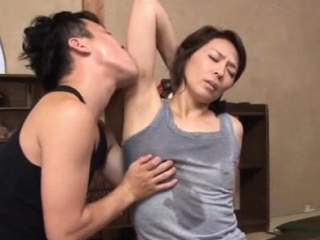 Agreeable asian mature gets her tits and vagina played with