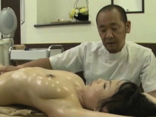 Oriental give a thought to just about big tits gives a horny oral sex