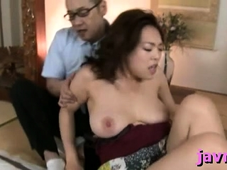 Chunky titted east milf rides unending penis vigorously