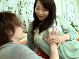 Asian slut enjoys a messy blowjob and creampie