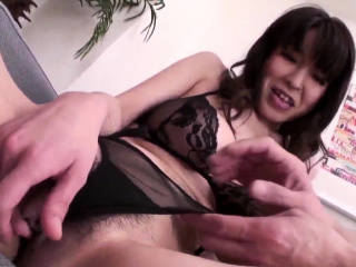 Busty Miina Kanno treats he- More at one's fingertips Japanesemamas.com
