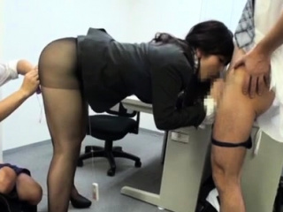 Very pretty office woman gets incredible lustful joy