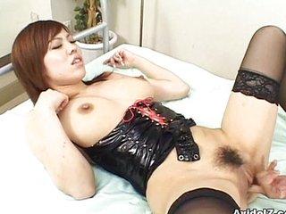 Miu Satsuki fucked from behind