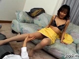 Delicious Yuka Takahashi enjoys fuck session